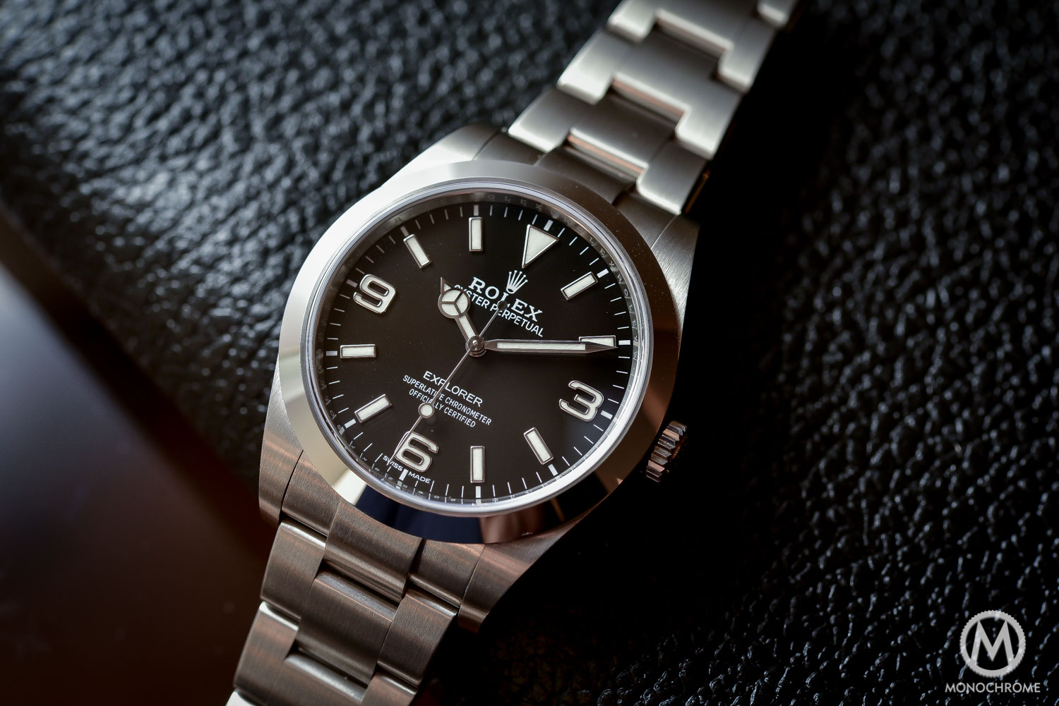 Rolex Explorer 214270 Baselworld 2016 - Long hands - 7