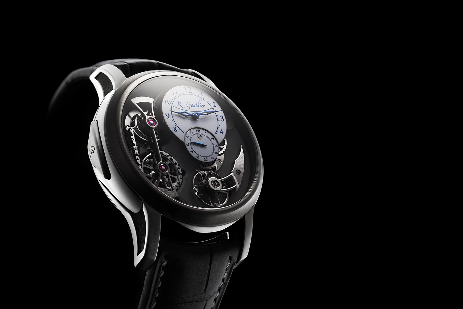 High End Watches >> Introducing The Romain Gauthier Logical One Natural Titanium One