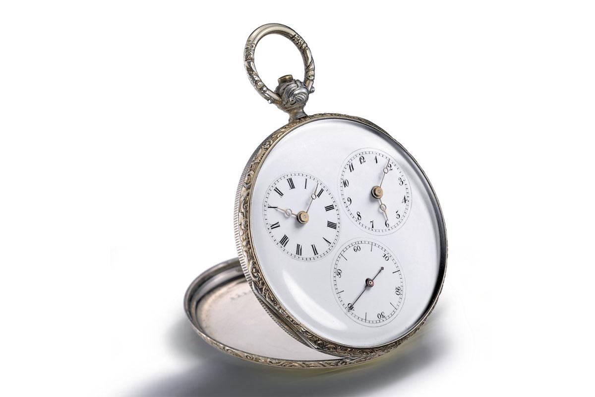Silver Captain Pocket Watch – Jean-Francois Bautte - Circa 1820