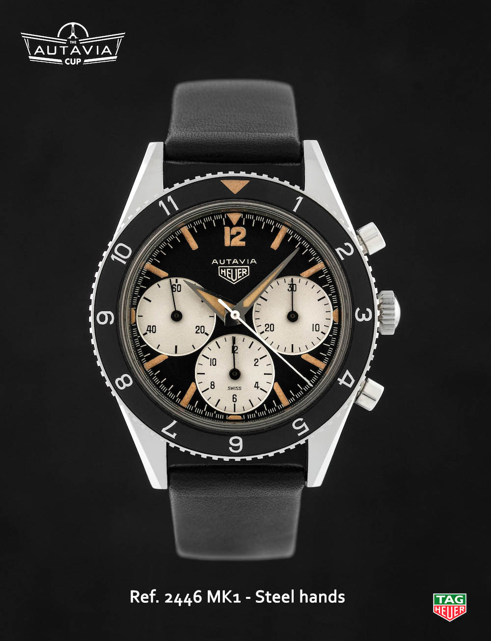 TAG Heuer Autavia - The Autavia Cup - 05-2446-Mk1-Steel