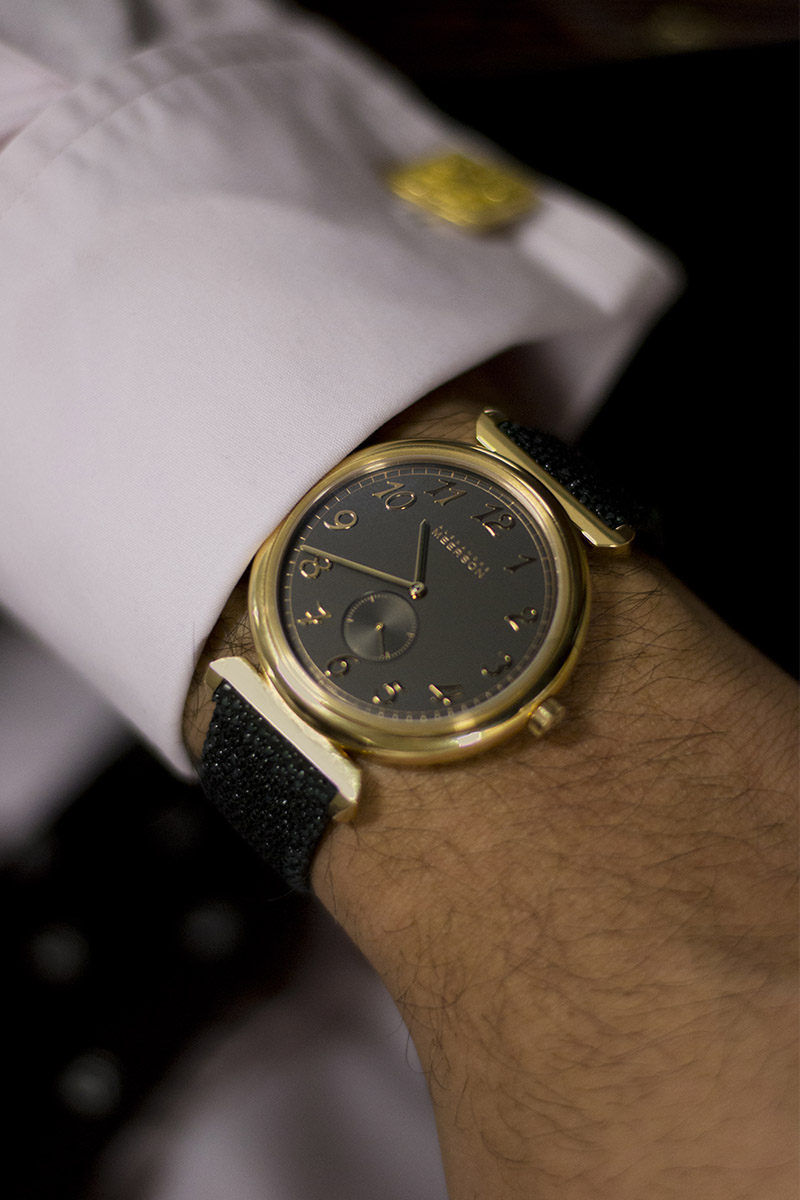 The Collector's Series - Kunal and his Alexandre Meerson Altitude Officier - 6