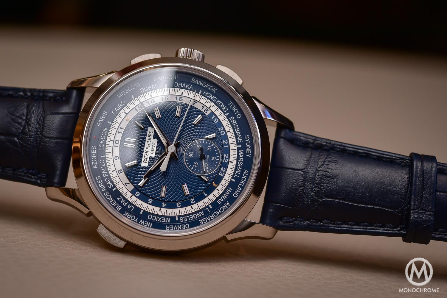 Top 5 Watches from Baselworld 2016 - Patek-Philippe-5930g-World-Timer-Chronograph-Baselworld-2016-1