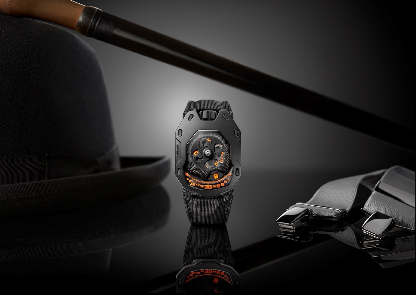 Urwerk UR 105 TA Clockwork Orange