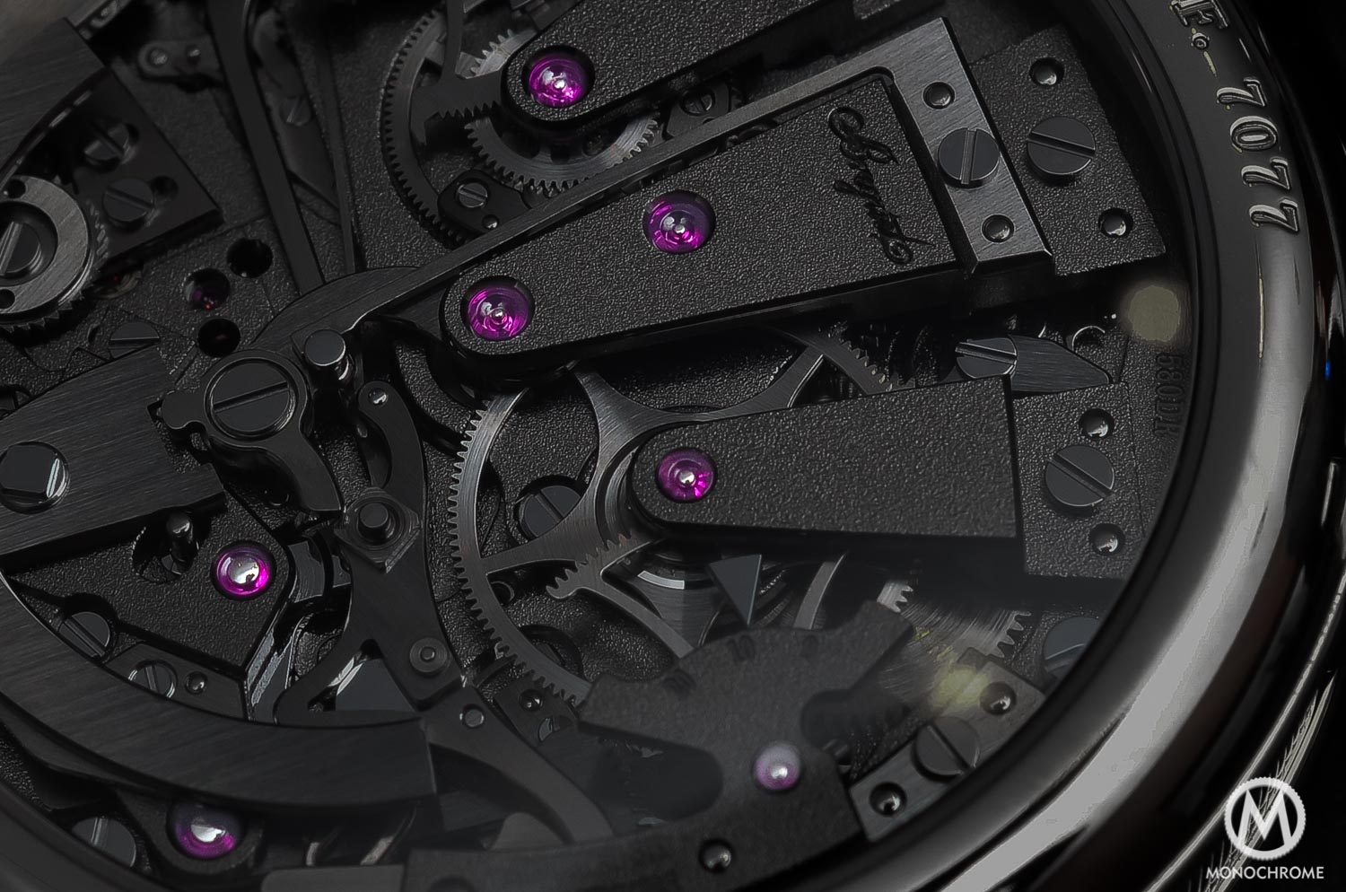 technical perspective - jewel bearings watch movement rubies - 2