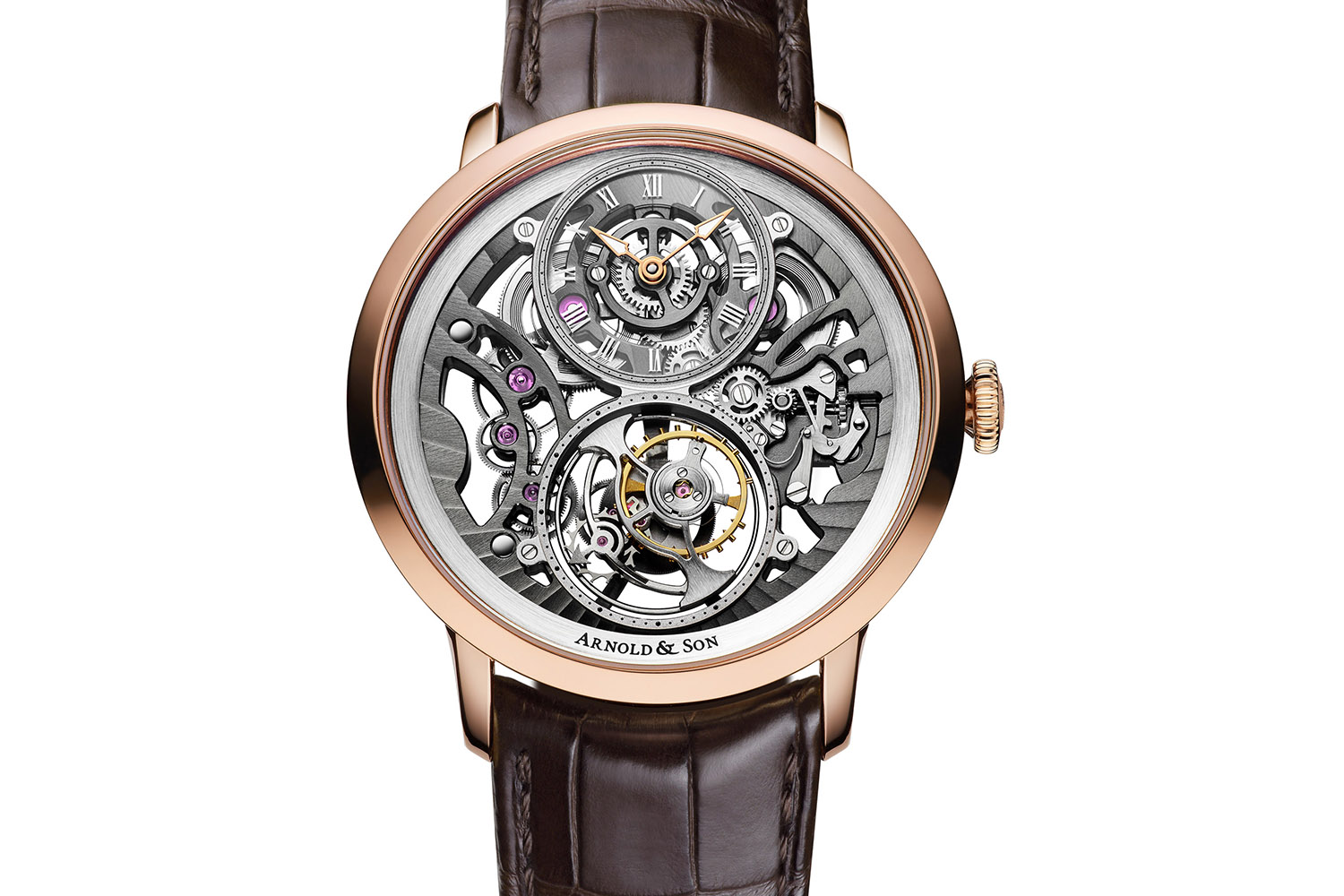 Arnold and Son UTTE Skeleton - world's thinnest tourbillon skeleton