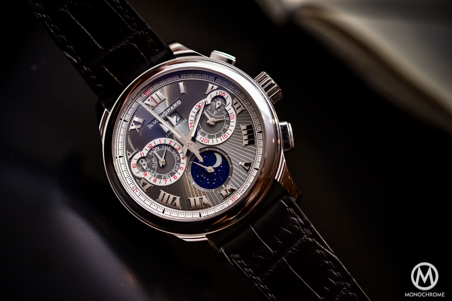 Chopard L.U.C Perpetual Chrono Fairmined white gold - Baselworld 2016 - 2