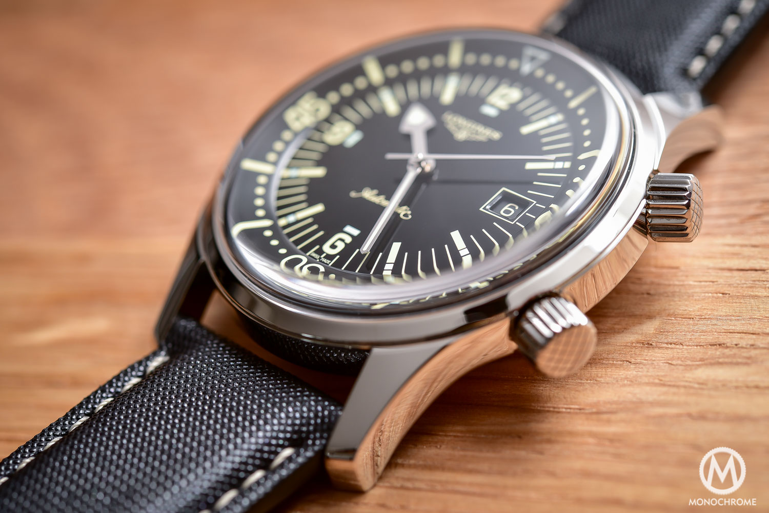 Comparative Review - 3 affordable & vintage-inspired dive watches - Longines Legend Diver - 5