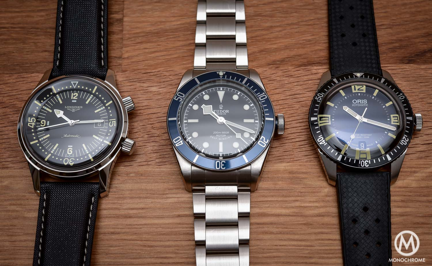 Comparative Review - 3 affordable & vintage-inspired dive