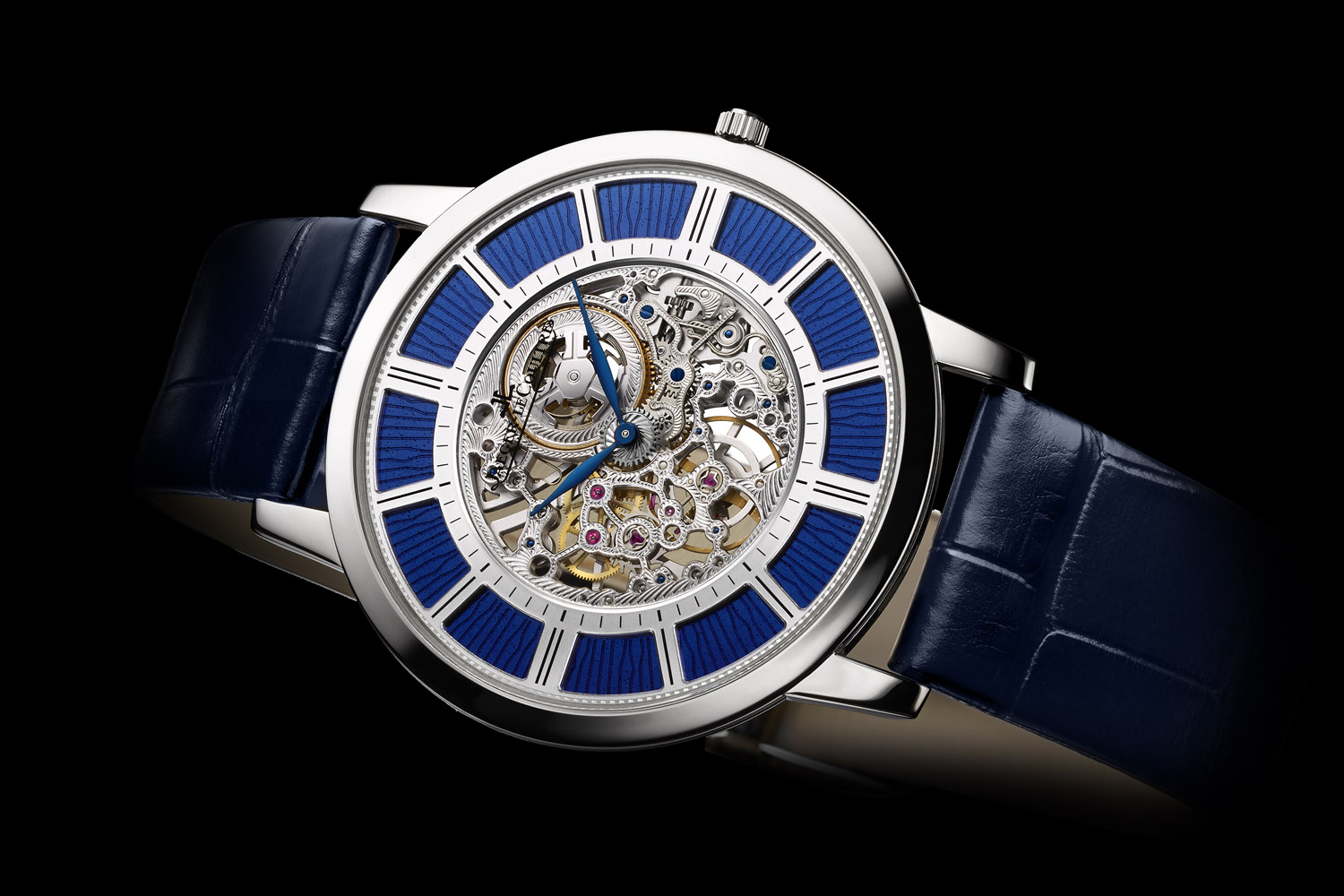Jaeger LeCoultre Master Ultra Thin Squelette - world's Thinnest mechanical watch