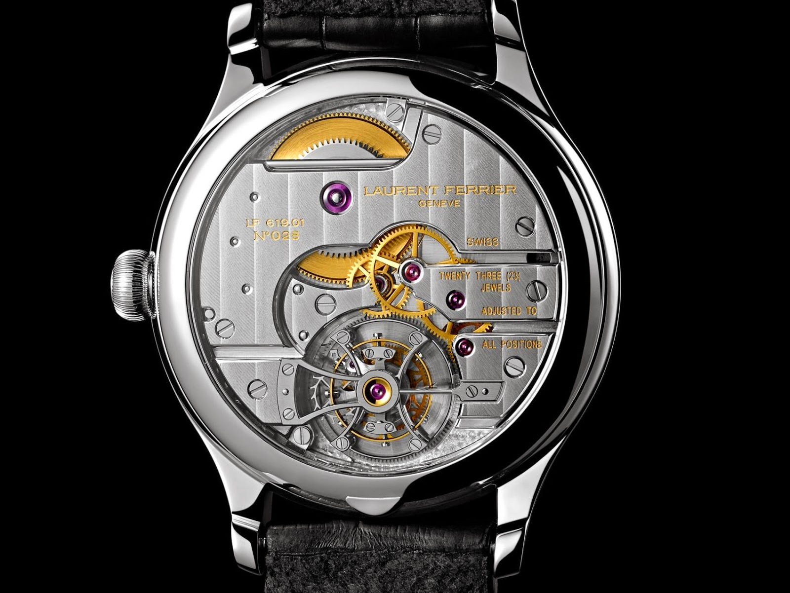Laurent Ferrier Tourbillon