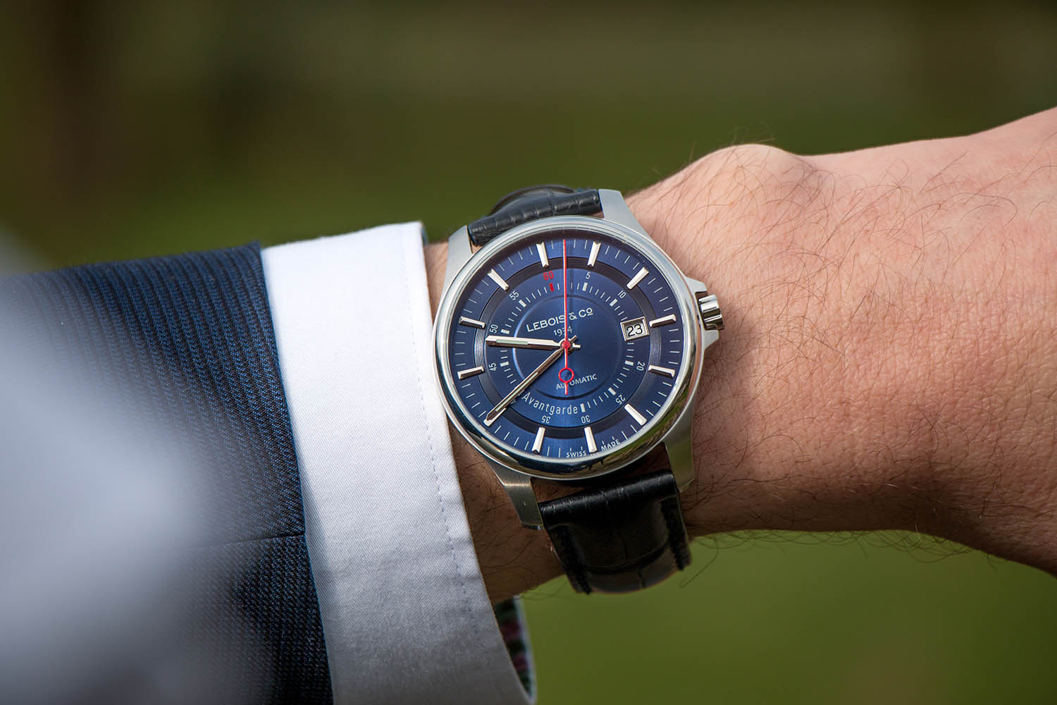 Lebois and Co Avantgarde Date - The Re-launch Edition blue - 3