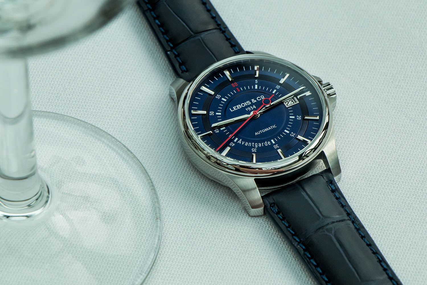 Lebois and Co Avantgarde Date - The Re-launch Edition blue - 4