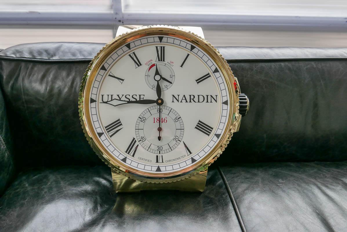 Ulysse Nardin wall clock