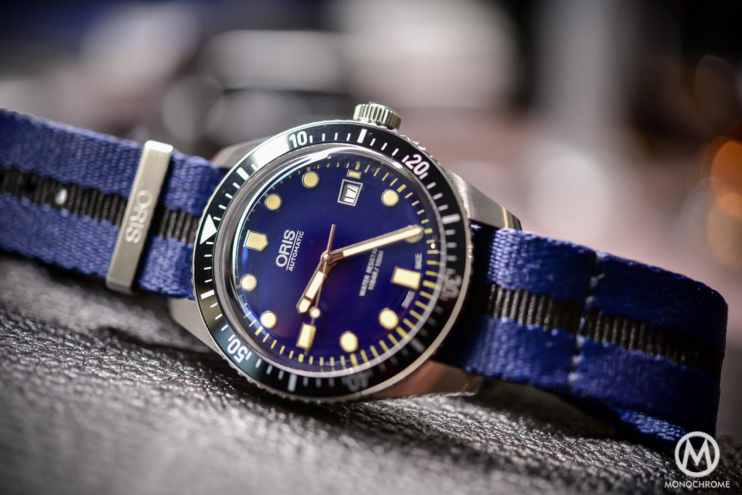 Oris Divers Sixty Five 42mm Blue Dial - Baselworld 2016 - Blue Nato