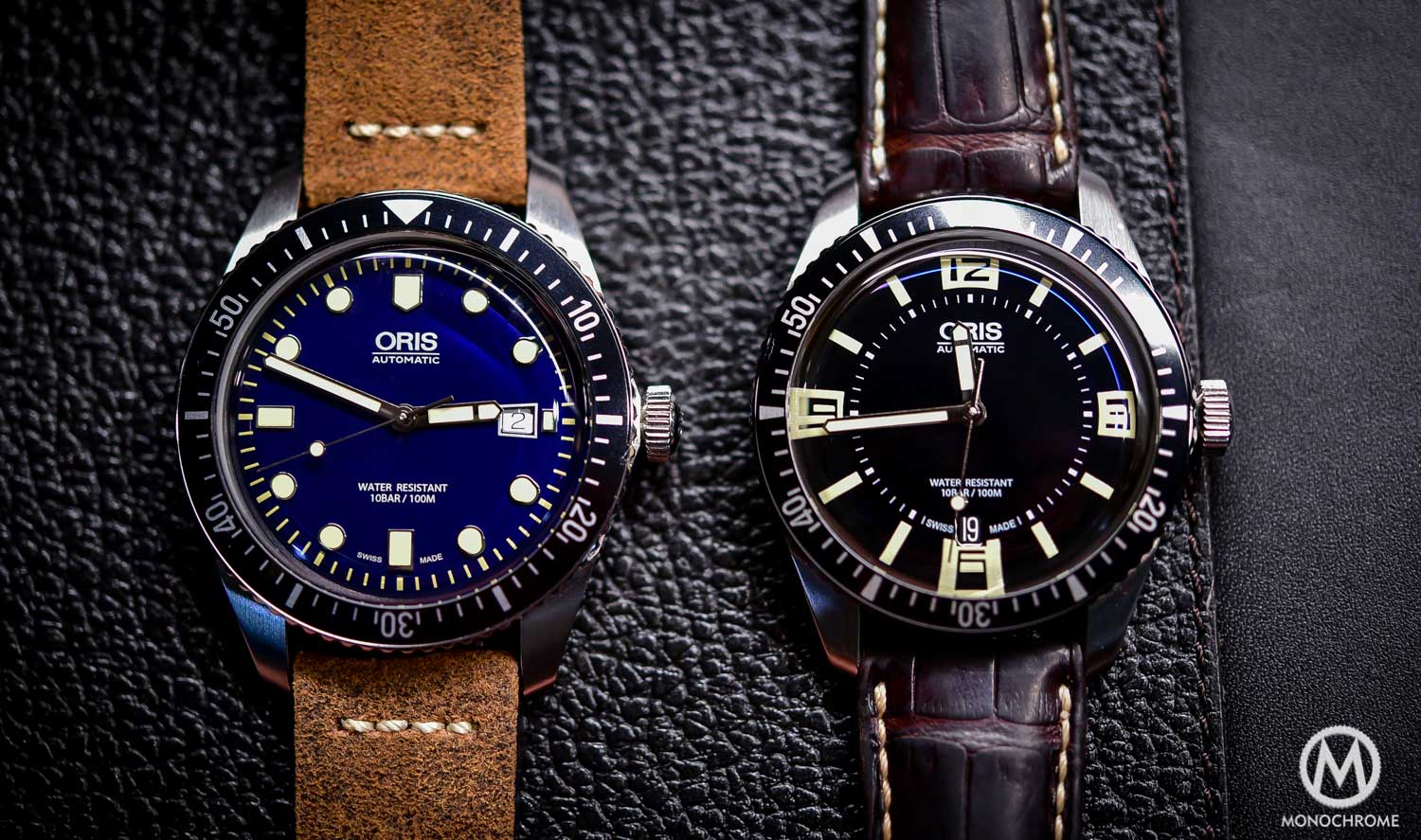 Oris Divers Sixty Five 42mm Blue Dial Vs. Oris Divers Sixty Five 40mm Black Dial