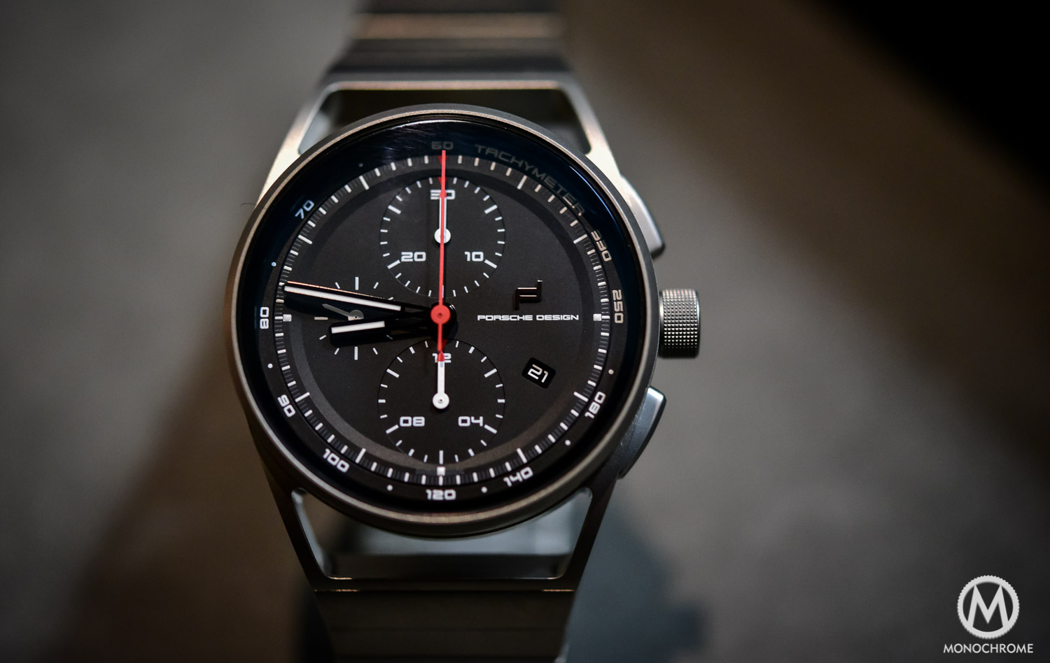 Porsche Design 1919 Chronotimer All Titanium - Baselworld 2016 - 1