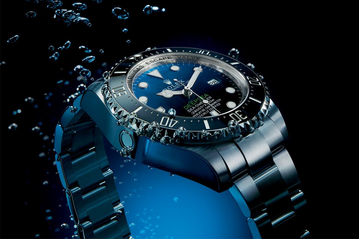 Rolex Deepsea D-blue gradient