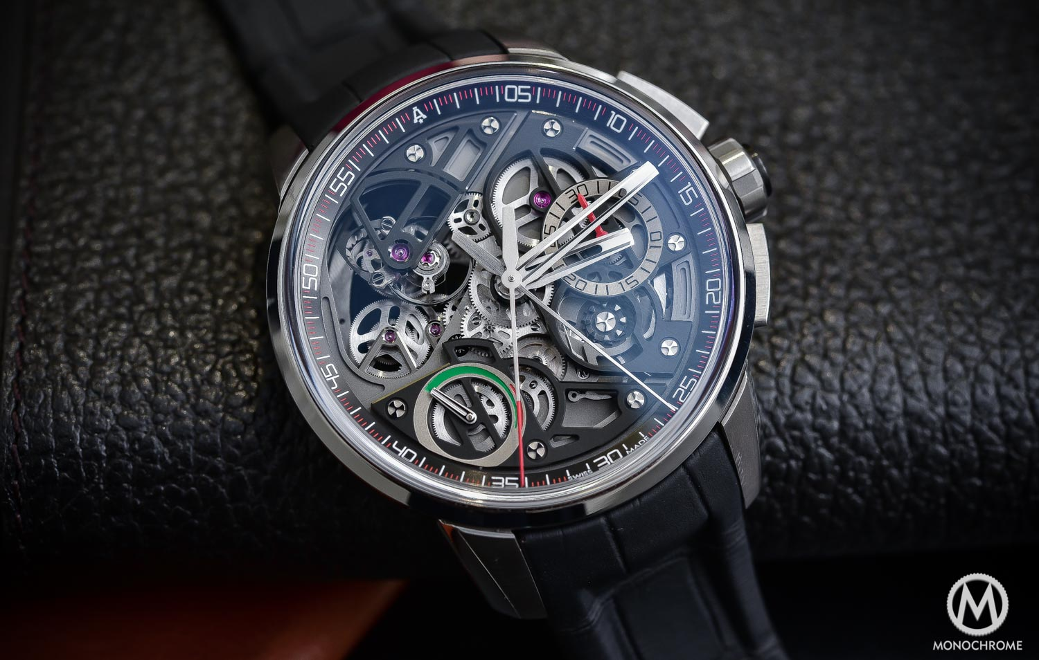 Top 5 Watches from Baselworld 2016 - Angelus U30 Rattrapante Tourbillon - Top 5 From Baselworld 2016 Frank - 1