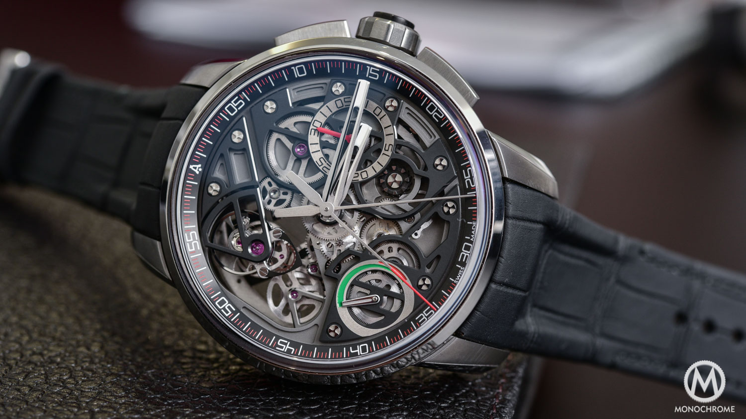 Top 5 Watches from Baselworld 2016 - Angelus U30 Rattrapante Tourbillon - Top 5 From Baselworld 2016 Frank - 2