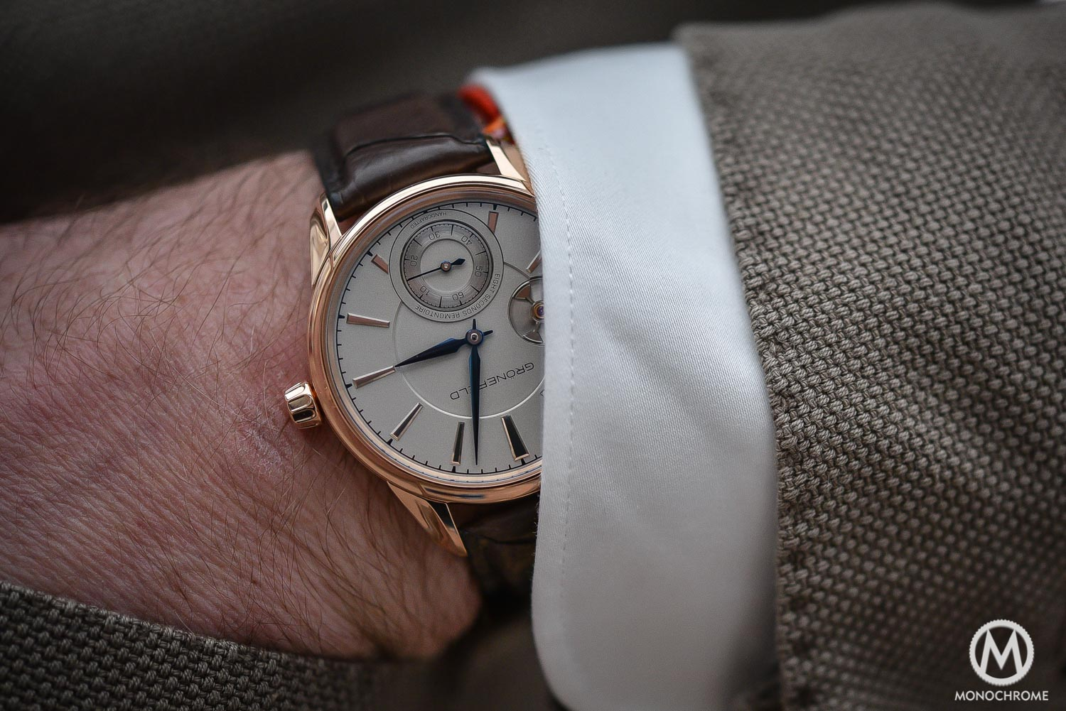 Top 5 Watches from Baselworld 2016 - Gronefeld 1941 Remontoire - Top 5 From Baselworld 2016 Frank - 1