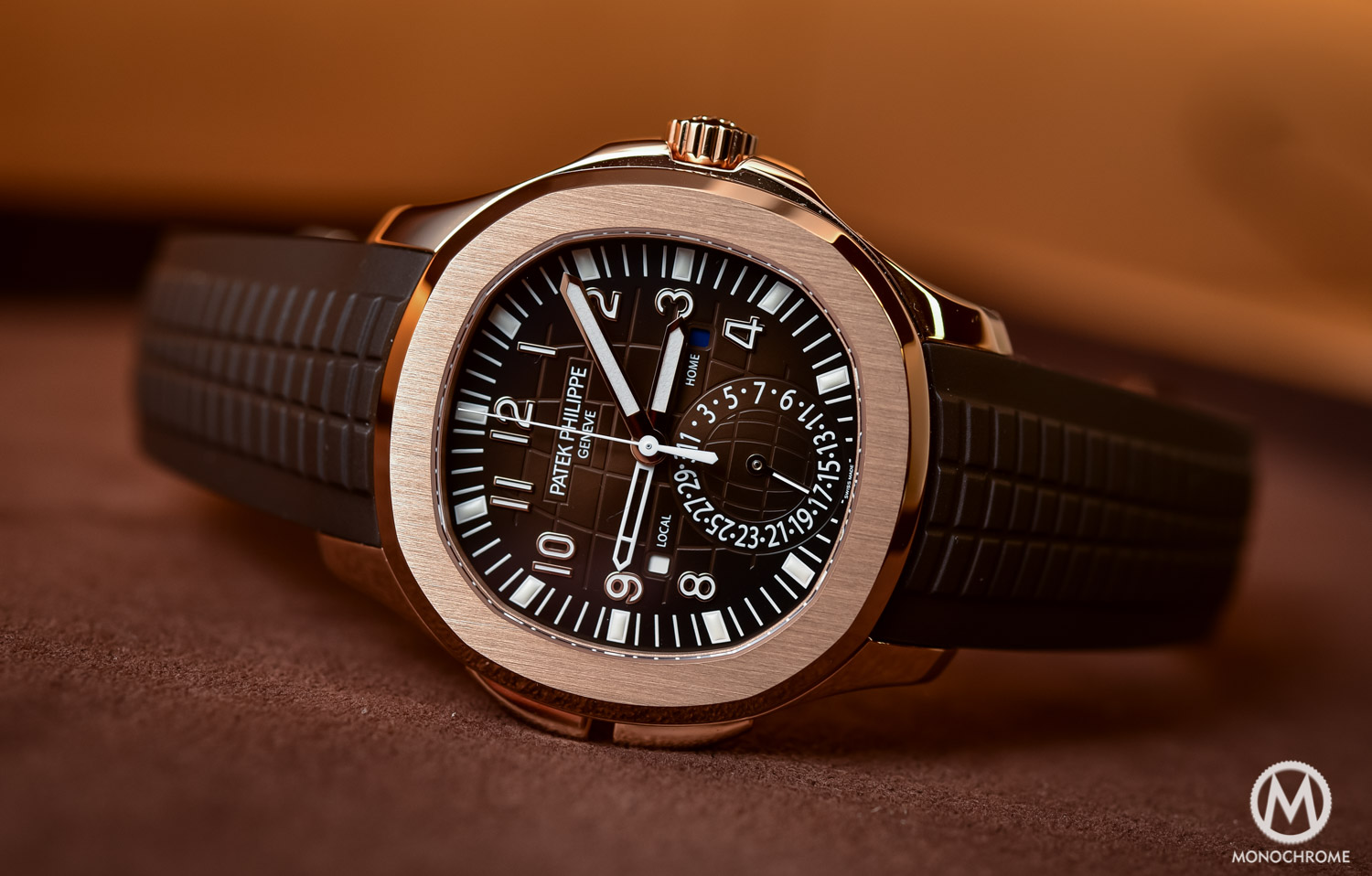 Top 5 Watches from Baselworld 2016 - Patek Philippe Aquanaut ref. 5164R - 1