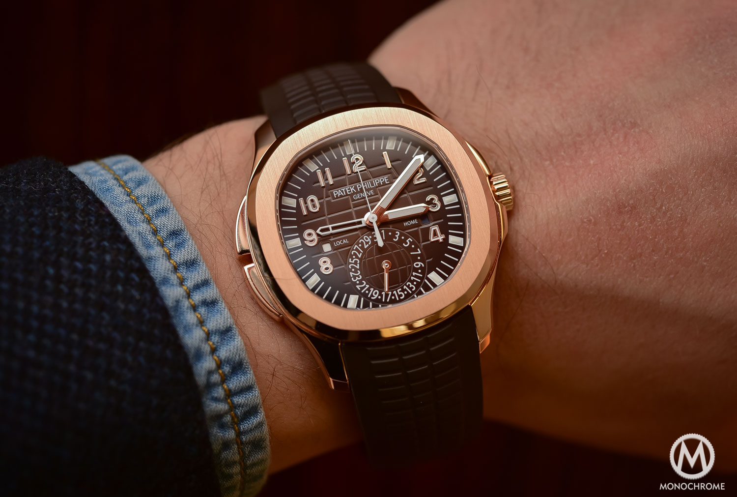 Top 5 Watches from Baselworld 2016 - Patek Philippe Aquanaut ref. 5164R - 2