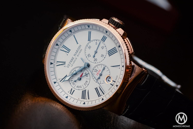 Ulysse Nardin Marine Chronograph Annual Calendar - Baselworld 2016