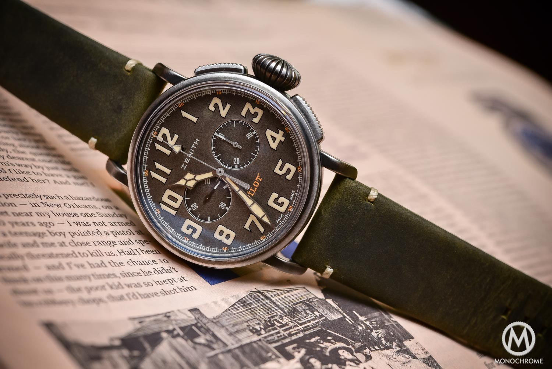 Zenith Heritage Pilot Cafe Racer Spirit El Primero Chronograph - Baselworld 2016 - 3