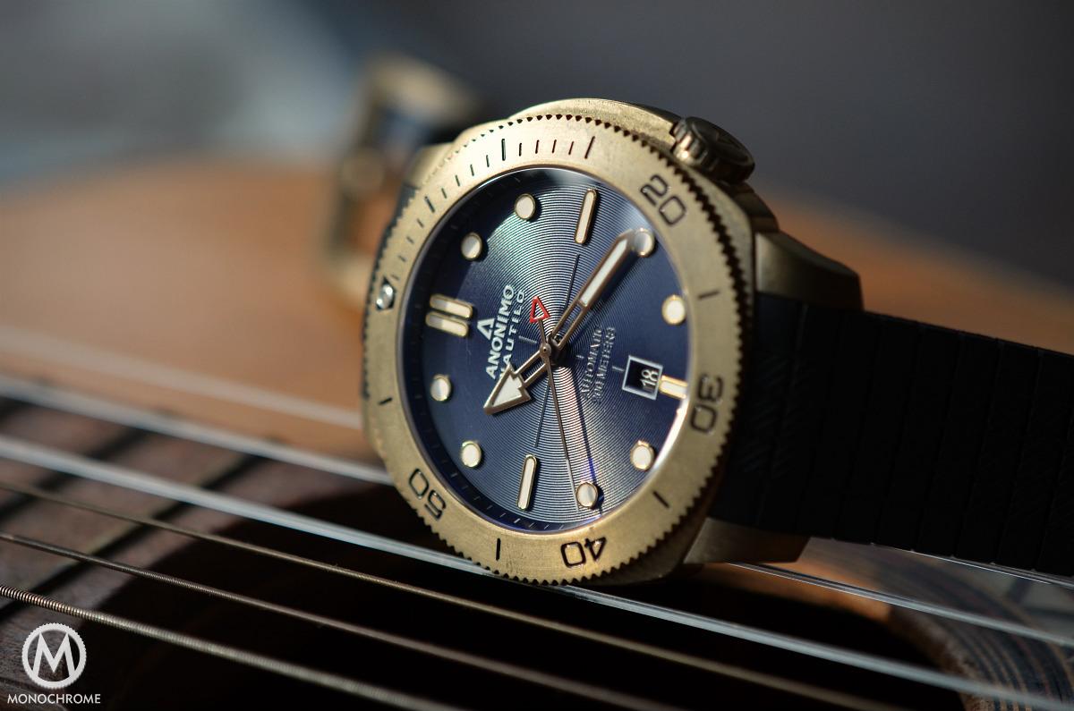 Anonimo Nautilo Bronze Blue dial - 10