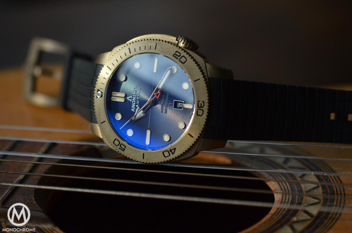 Anonimo Nautilo Bronze Blue dial - 11