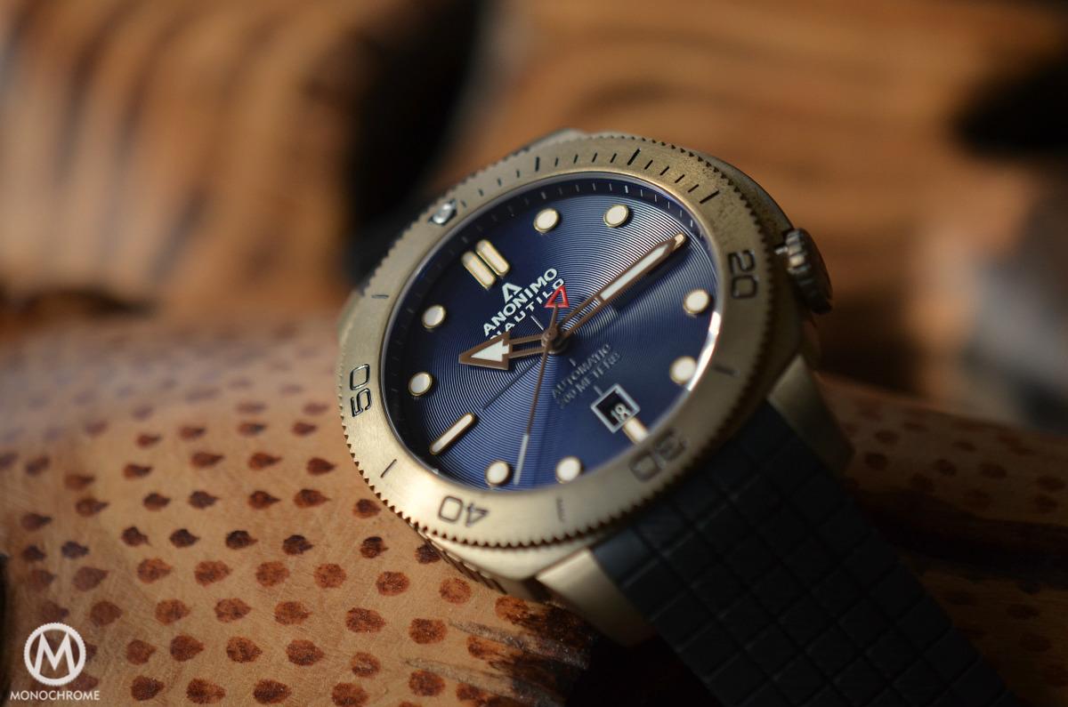 Anonimo Nautilo Bronze Blue dial - 15