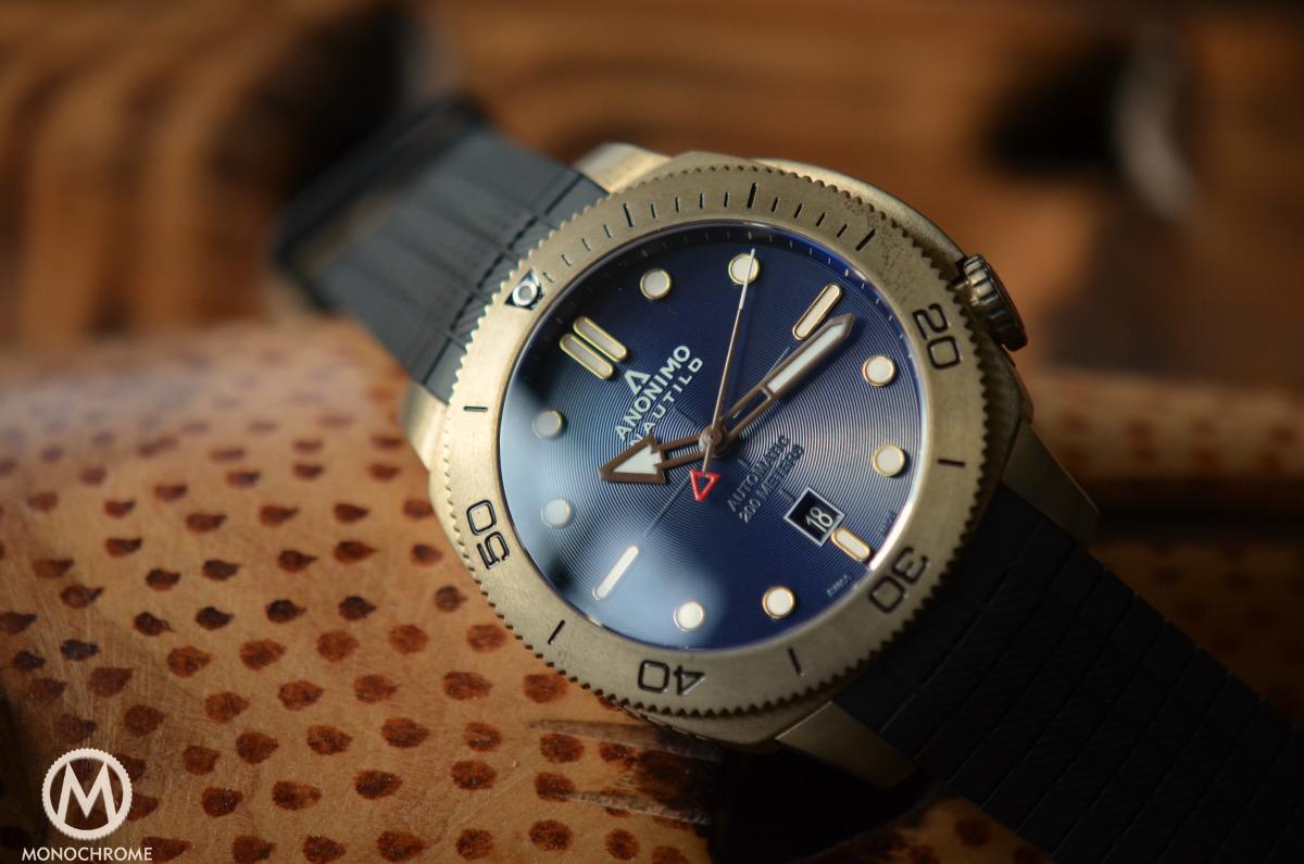 Anonimo Nautilo Bronze Blue dial - 17