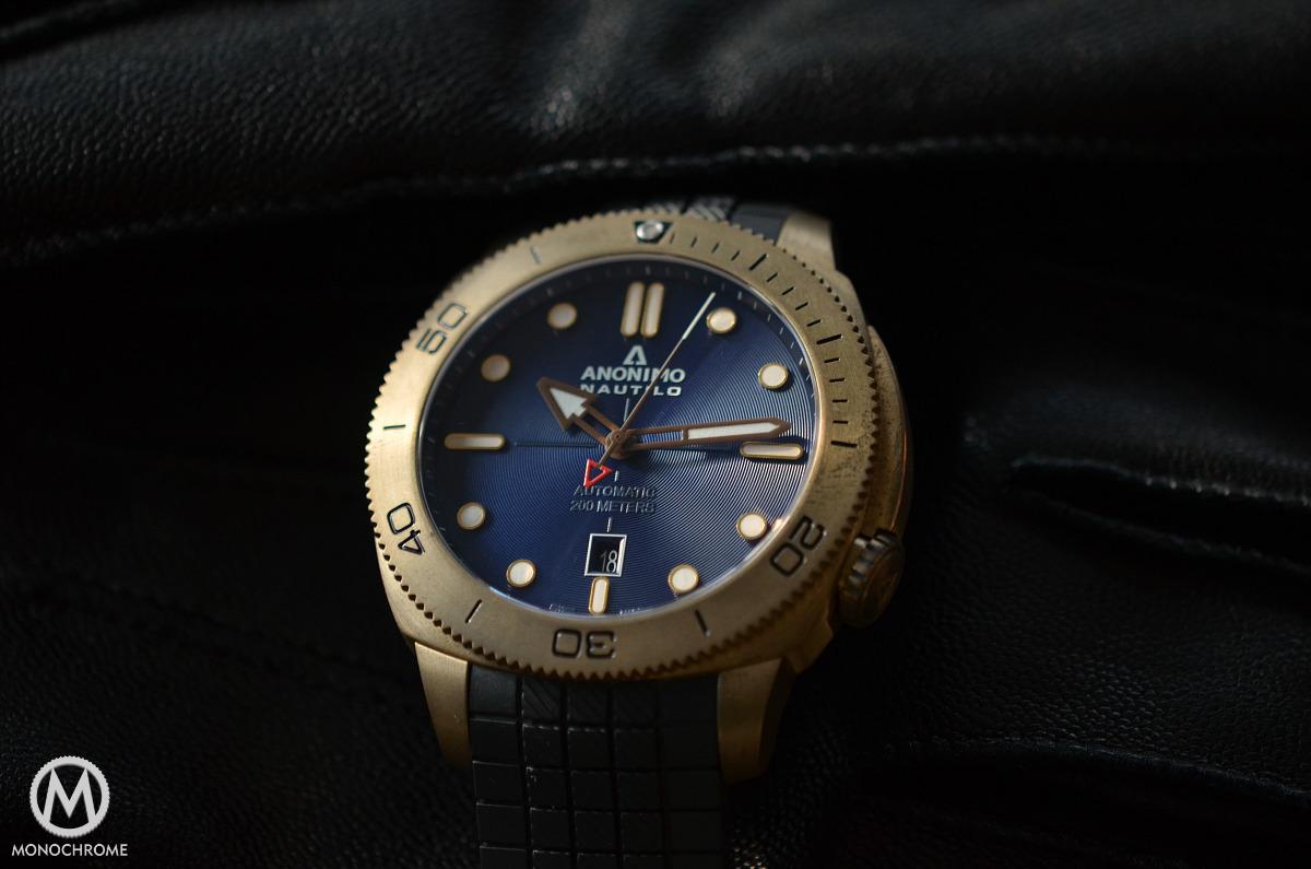 Anonimo Nautilo Bronze Blue dial - 3