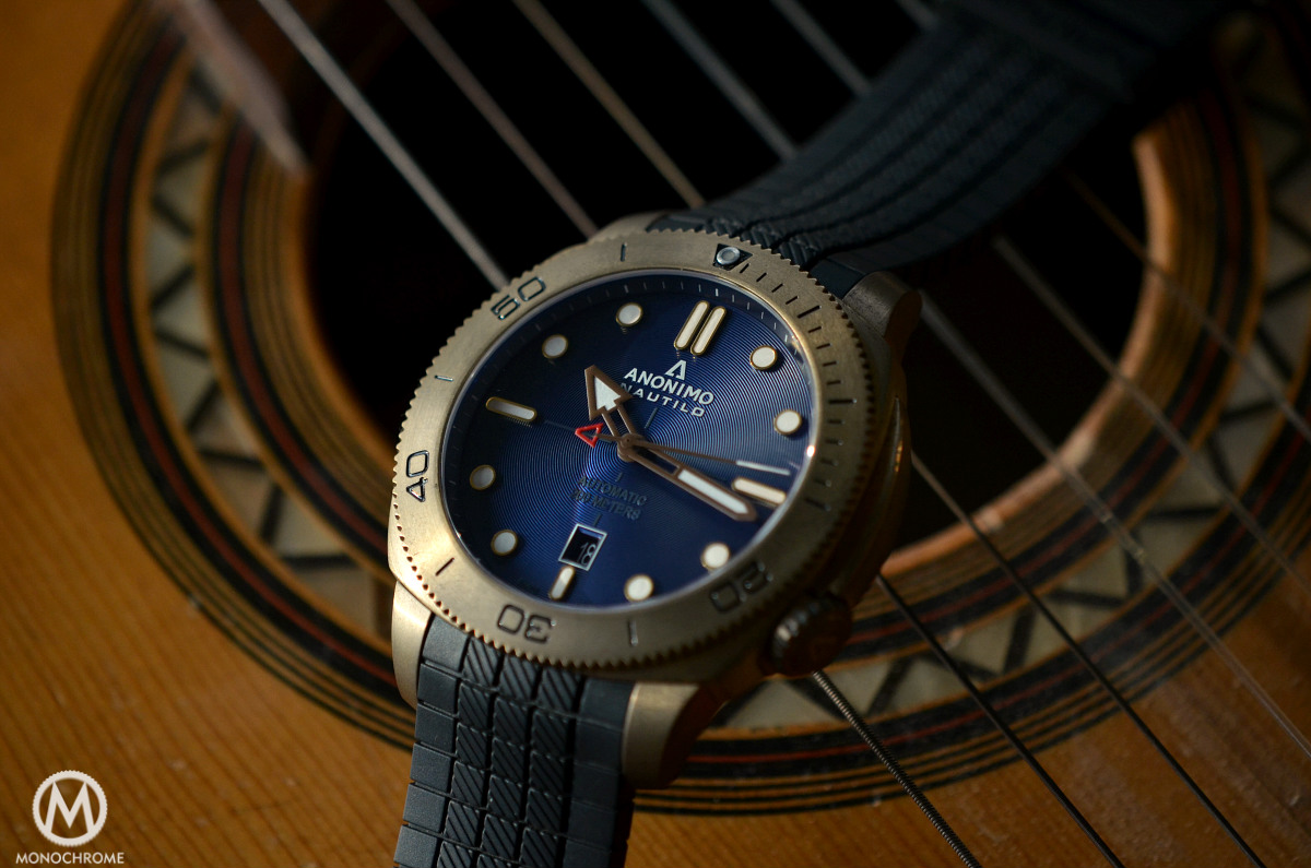 Anonimo Nautilo Bronze Blue dial - 7
