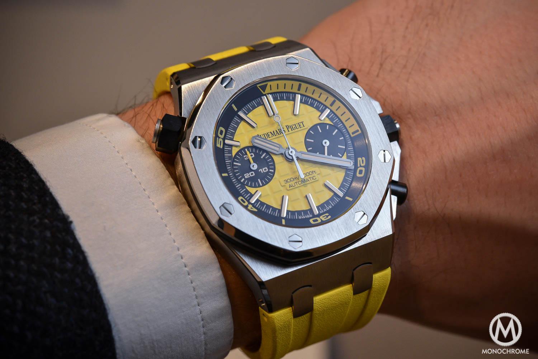 Audemars Piguet Royal Oak Offshore Diver Chronograph 26703ST Yellow