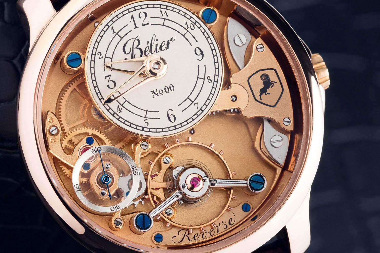 Belier Watches Reverse - AHCI candidate - Kim Djapri - 1