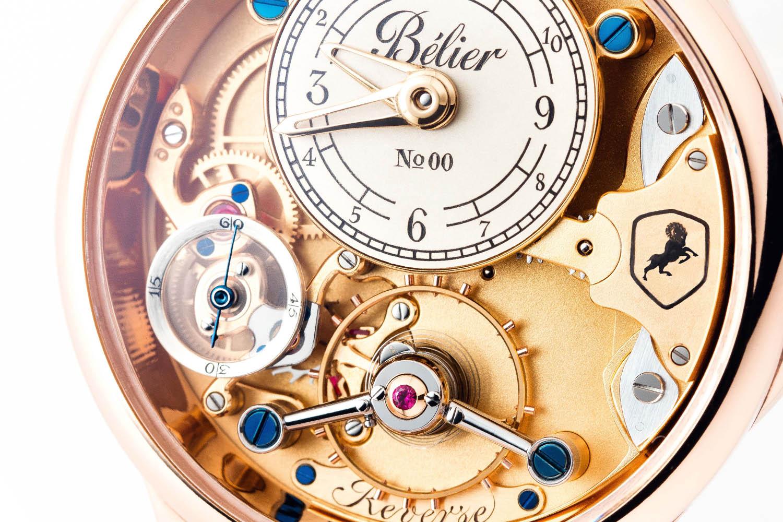 Belier Watches Reverse - AHCI candidate - Kim Djapri - 3