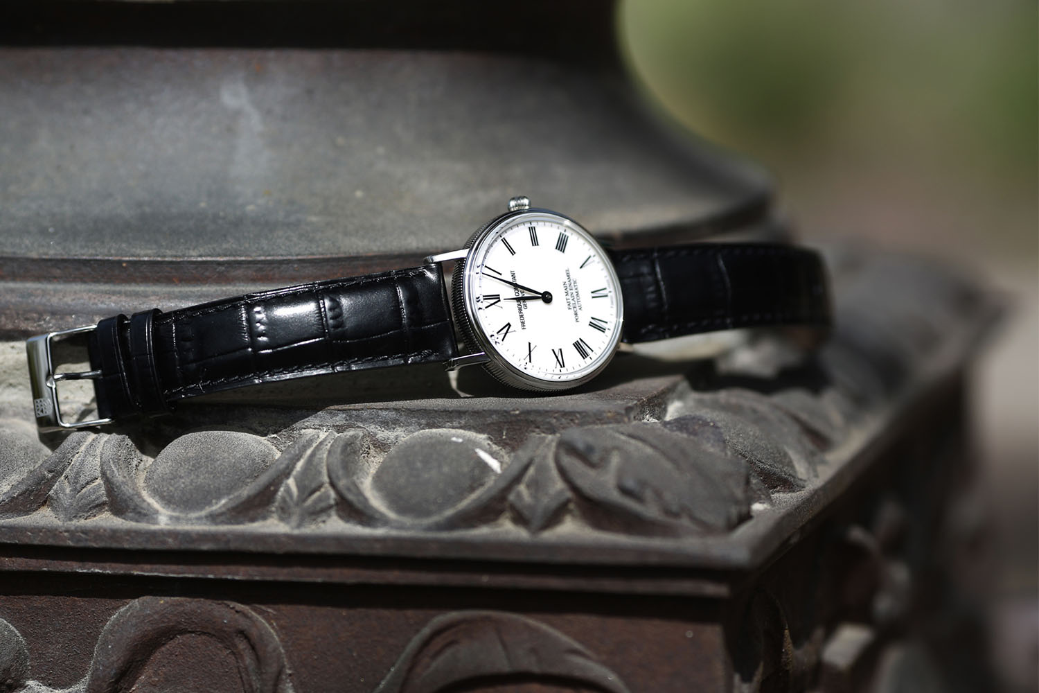 Frederique Constant Classics Art of Porcelain - affordable hand made porcelain dial - 5