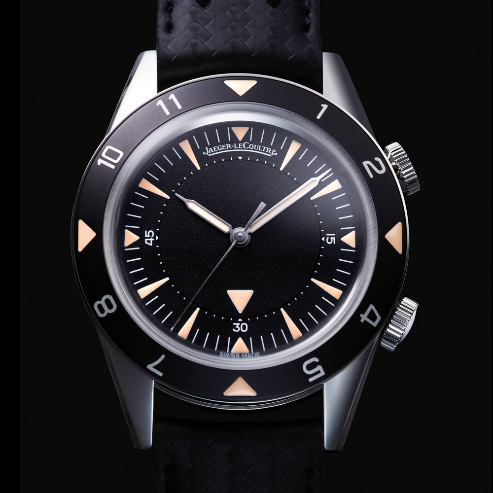 Jaeger LeCoultre Memovox tribute to deep sea Europe