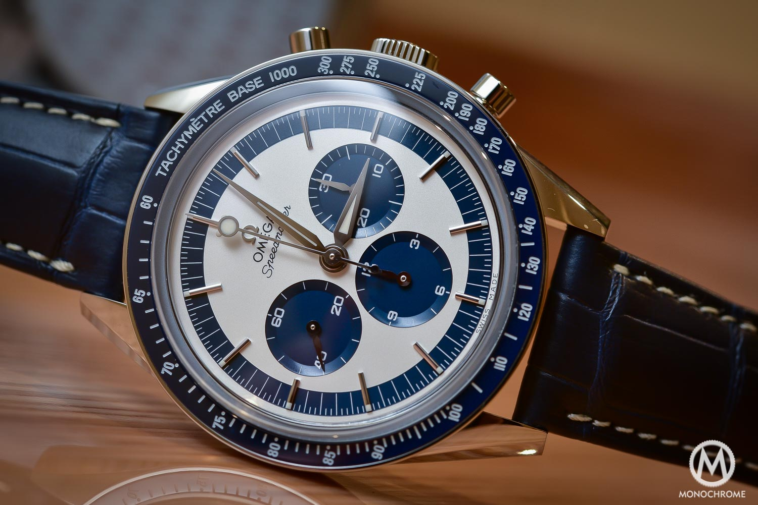 OMEGA Speedmaster CK2998 Limited Edition lollipop blue panda - Baselworld 2016 - 2