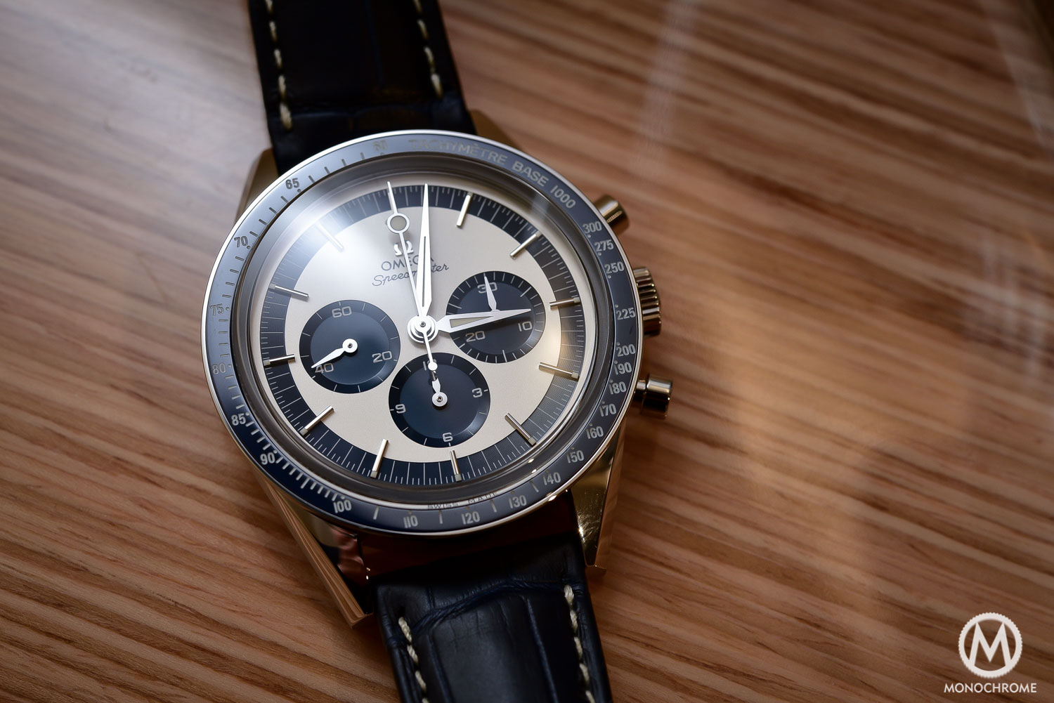 OMEGA Speedmaster CK2998 Limited Edition lollipop blue panda - Baselworld 2016 - 7
