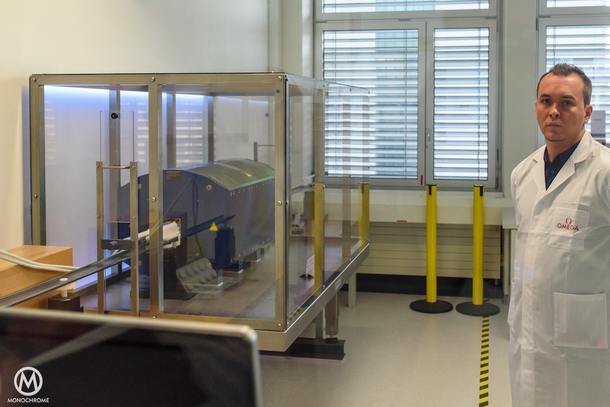Omega-Manufacature-METAS-Certification-Visit-2
