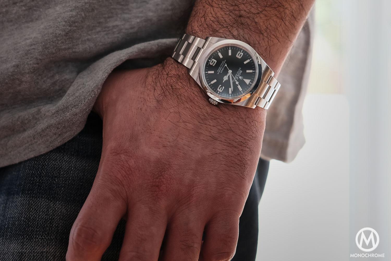 Rolex Explorer 214270 pre-2016 short hands - 3