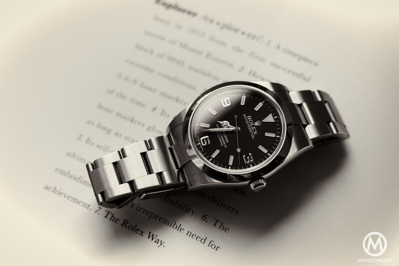 Rolex Explorer 214270 pre-2016 short hands - 4