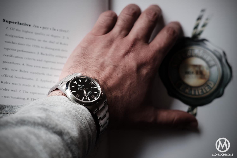 Rolex Explorer 214270 pre-2016 short hands - 5