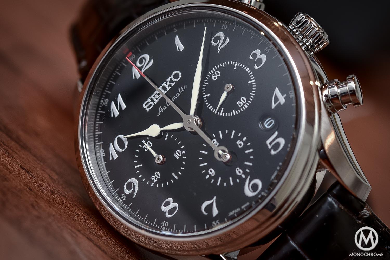 Seiko Presage 60th Anniversary Chronograph black urushi lacquer dial - 1
