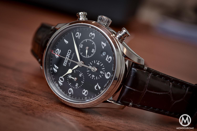 Seiko Presage 60th Anniversary Chronograph black urushi lacquer dial - 2