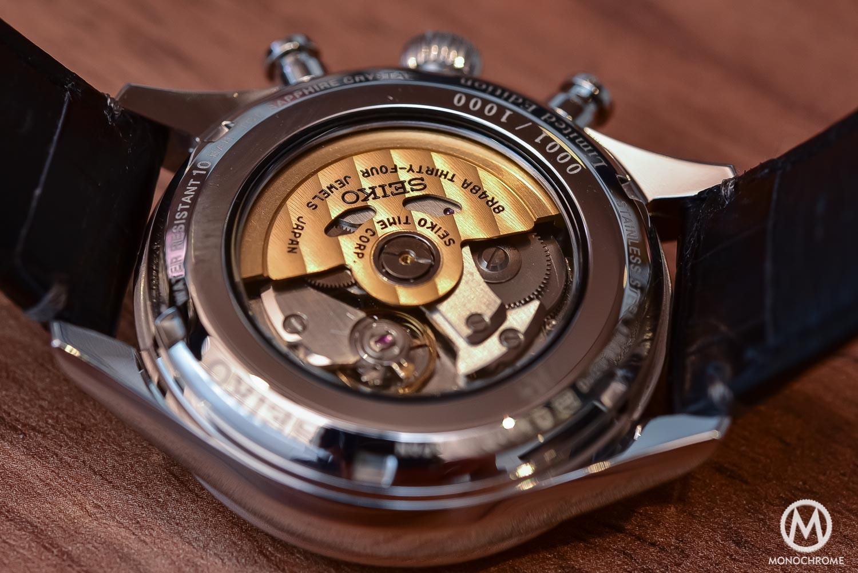 Seiko Presage 60th Anniversary Chronograph - calibre 8R48