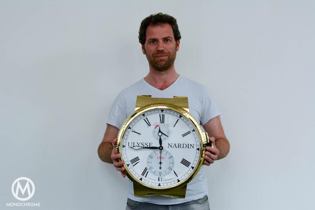 UN Wall Clock-7130-3