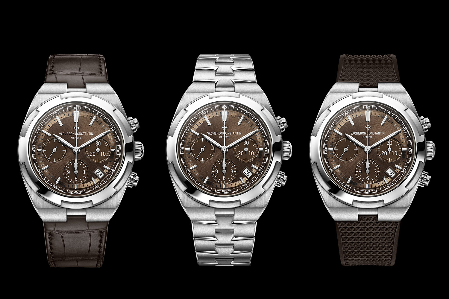 Vacheron Constantin Overseas chronograph 5500v - brown dial - 1